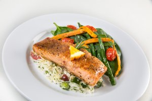 Montreal Steak Spiced Salmon
