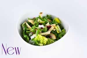 Pear and Pomegranate Greens